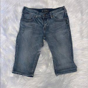 Silver Jeans Bermuda Jean Shorts